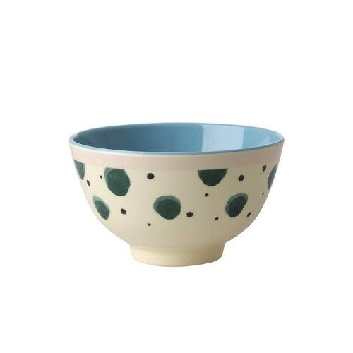Rice Mel Bowl S Watercolor Splash
