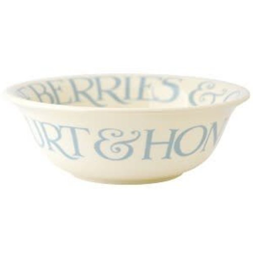 Emma Bridgewater Cerealbowl Pale Blue Toast NEW