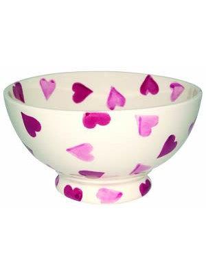 Emma Bridgewater Frenchbowl Pink Hearts