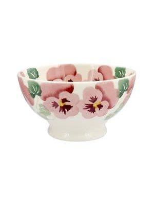 Emma Bridgewater Frenchbowl Pink Pansy