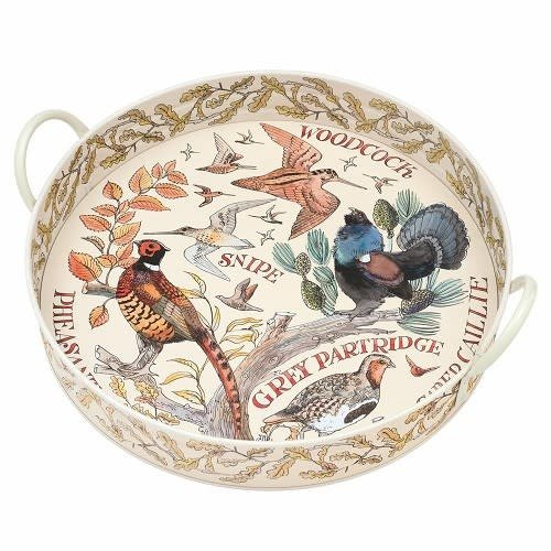 Emma Bridgewater Dienblad blik L Game Birds