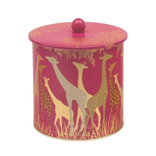 Sara Miller Blik Biscuit Barrel Giraffe