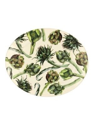 Emma Bridgewater Oval Platter M Artichoke