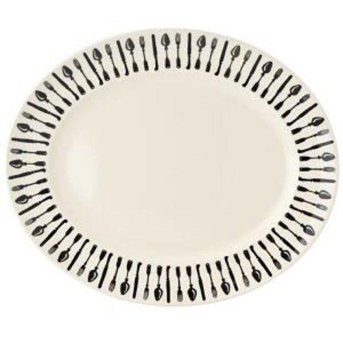 Emma Bridgewater Oval Platter M Knives & Forks