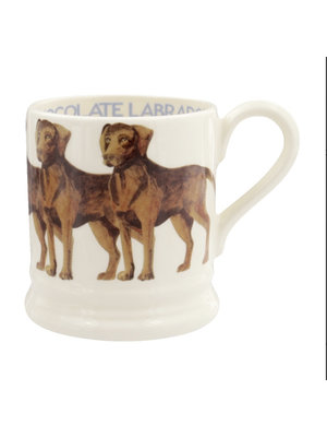 Emma Bridgewater 0.5 pt Mug Chocolate Labrador