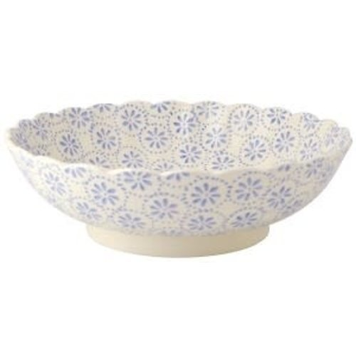 Emma Bridgewater Fluted Dish Lavender Daisy