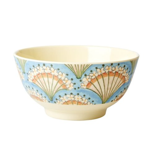 Rice Melamine kom Flower Fan