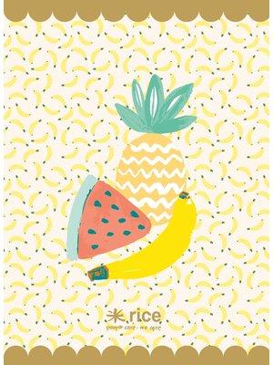 Rice Exercise book A4 Tutti Frutti