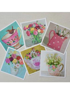 Andrea Letterie Kunst Kaart 14x14 Andrea Letterie set/6