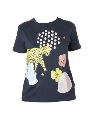 Rice T-shirt Wild Leopard