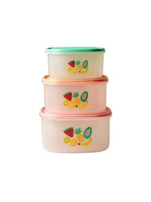 Rice Voorraaddozen Tutti Frutti set/3