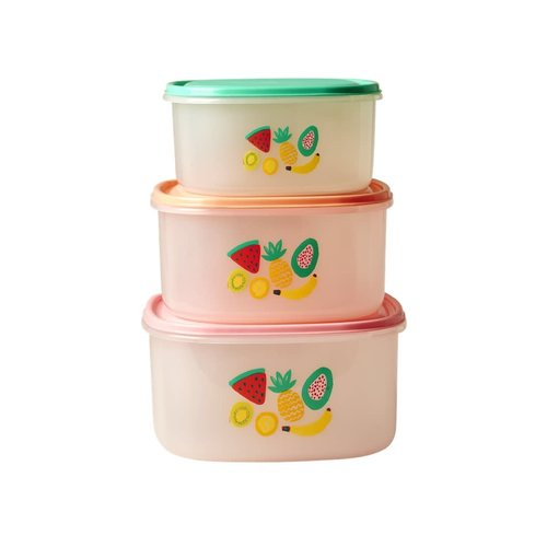 Rice Food Boxes Tutti Frutti s/3