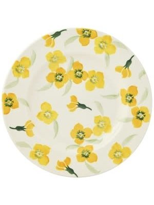 Emma Bridgewater 8.5 Plate Yellow Wallflower