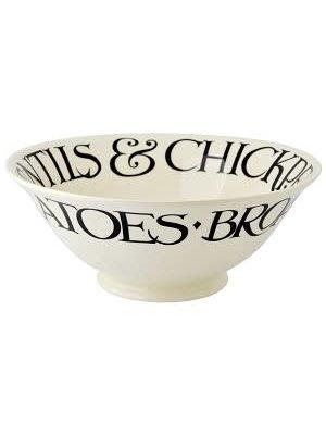 Emma Bridgewater Serving Bowl Black Toast classic