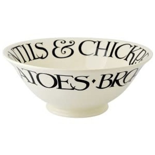 Emma Bridgewater Serving Bowl Black Toast