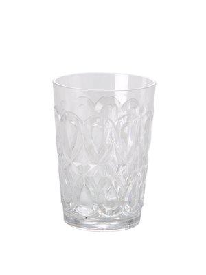 Rice Waterglas tumbler acryl Swirly clear