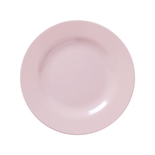 Rice Melamine lunch bord in Soft Pink