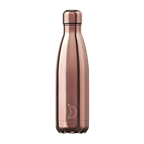 Chilly's Bottle Chilly's Bottle 500ml Chrome Rose Gold