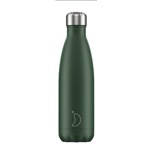 Chilly's Bottle Chilly's Bottle 500ml Green Matte