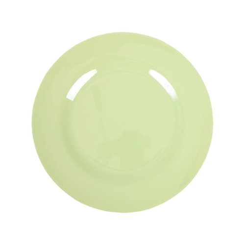 Rice Melamine lunch bord Mint