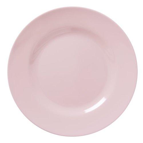 Rice Melamine diner bord Soft Pink