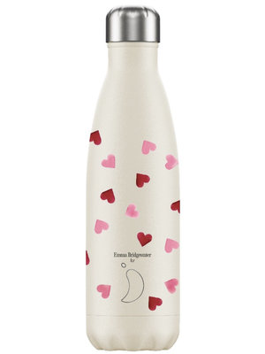 Chilly's Chilly's Bottle 500ml Pink Hearts Emma Bridgewater