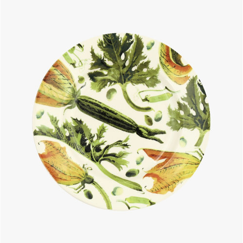 Emma Bridgewater 8.5 Plate Yellow Courgettes