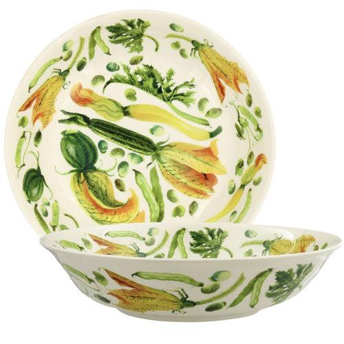 Emma Bridgewater Dish Medium Yellow Courgettes