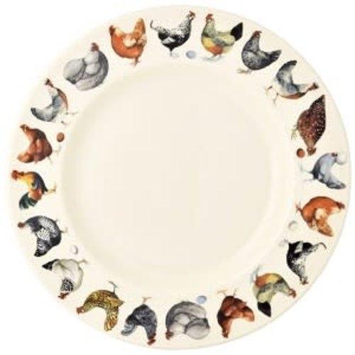 Emma Bridgewater 10.5 Plate Hen & Toast