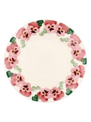 Emma Bridgewater 10.5 Plate Pink Pansy