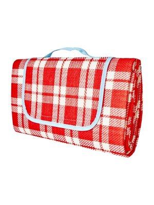 Rice Picknick deken Check Red & Creme
