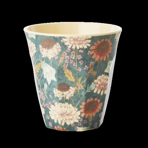 Rice Melamine beker Fall Flower
