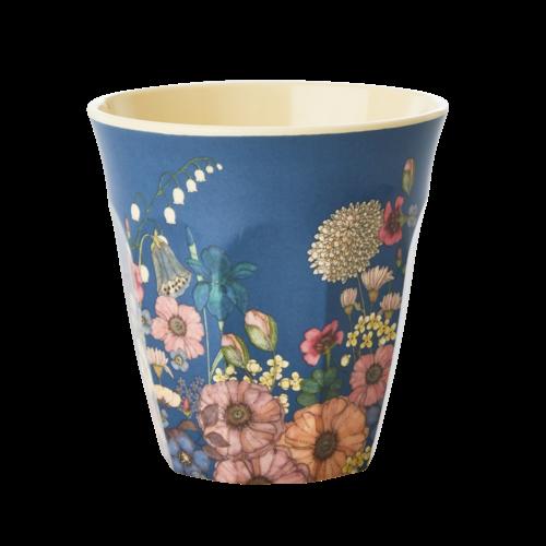 Rice Melamine beker Flower Collage