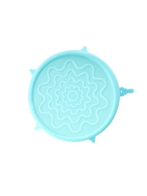 Rice Silicone Deksel voor Medium melamine kom Mint