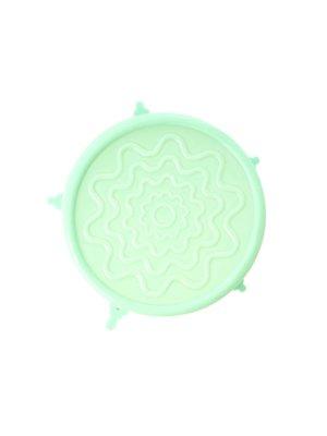Rice Silicone Deksel voor Medium melamine kom Pastel Groen