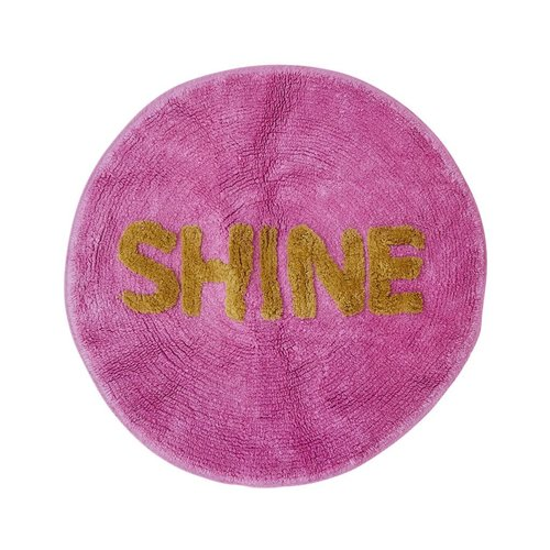 Rice Vloermat rond Dusty Pink - SHINE