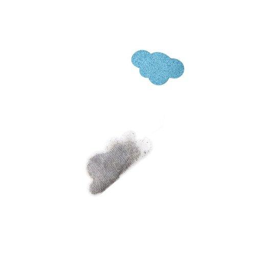 Rice Thee Wolk - Cloud vormig zakje en label 5 stuks
