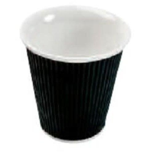 Les Artistes Koffie mok 18cl Zwart