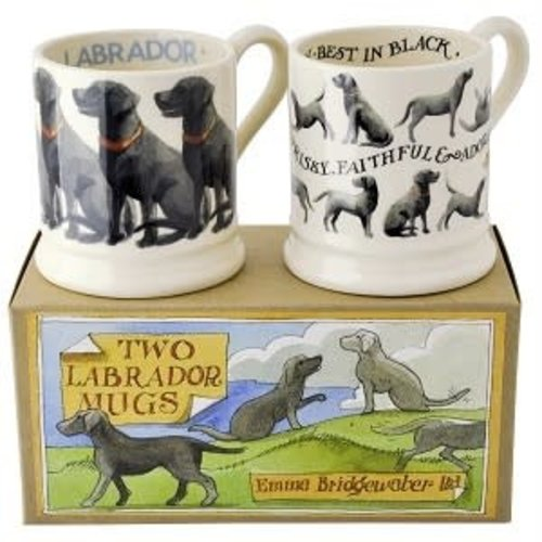Emma Bridgewater 0.5 pt Mug Labrador ass