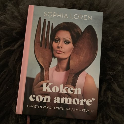 Luitingh Sijthoff Koken con amore - Sophia Loren
