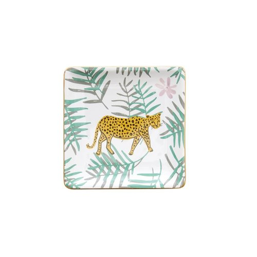 Rice Juwelen schaaltje Leopard and Leaves
