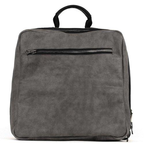 Uashmama Rugzak / Backpack New York donker grijs