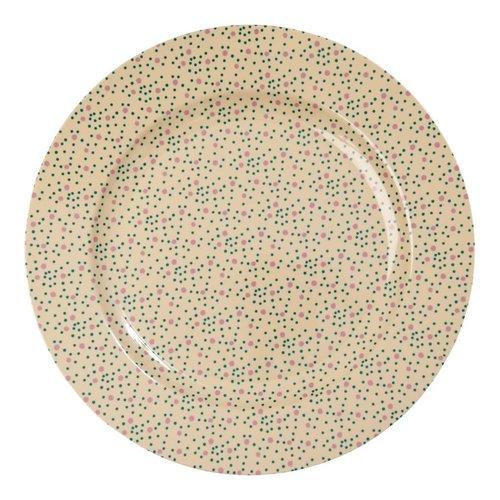 Rice Melamine serveer bord Connecting Dots