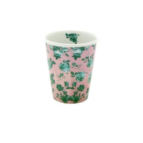 Rice Mok 225ml Pink Green Rose