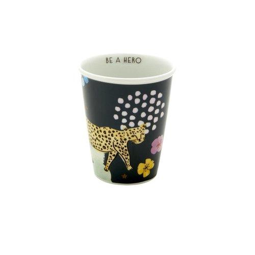 Rice Mok 225ml Wild Leopard