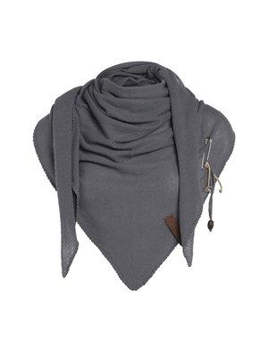 Knit Factory Omslagdoek Lola med grey