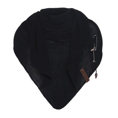 Knit Factory Omslagdoek Lola zwart