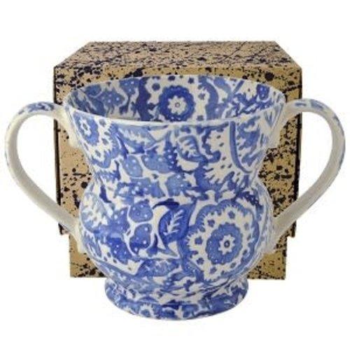Emma Bridgewater 2 Handled Vase Blue Wallpaper