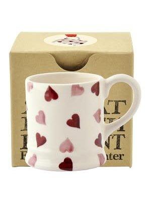 Emma Bridgewater Tiny Mug Pink Hearts