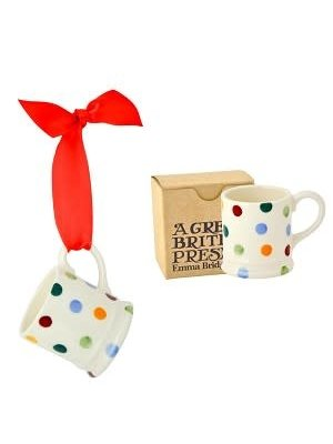 Emma Bridgewater Tiny Mug Polka Dots